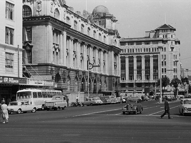 Central Auckland Post Office Auckland 1970