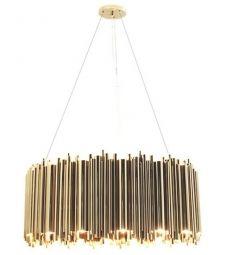 Brubeck Round Pendant Lamp DelightFULL
