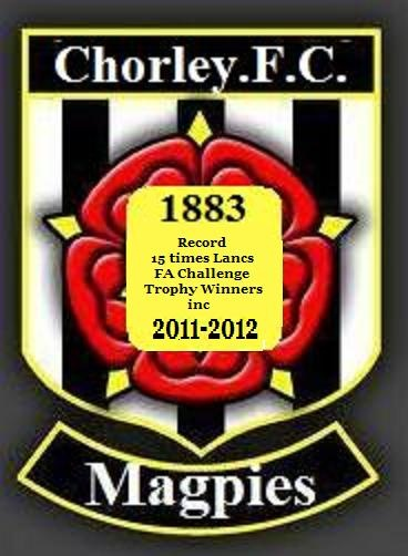 The new customised logo by MiTeamShirts for Chorley Magpies F.C. only £5