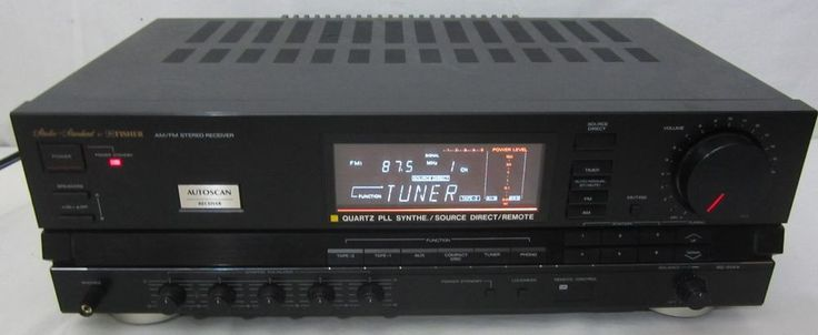 Fisher Studio Standard Rs 914a Stereo Reciever Works