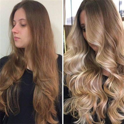HOW-TO: Blend Balayage #behindthchair #balayage #hairpainting