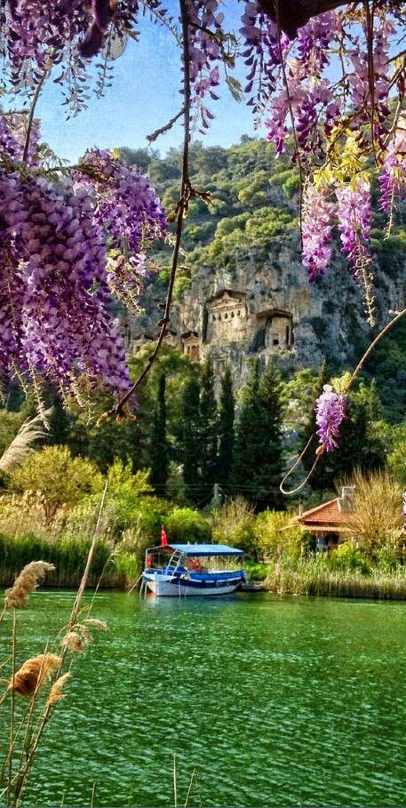Kaunos,  Daylan,  Turkey