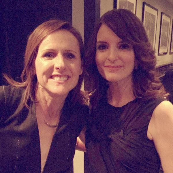Molly Shannon and Tina Fey need to do a movie together or something.