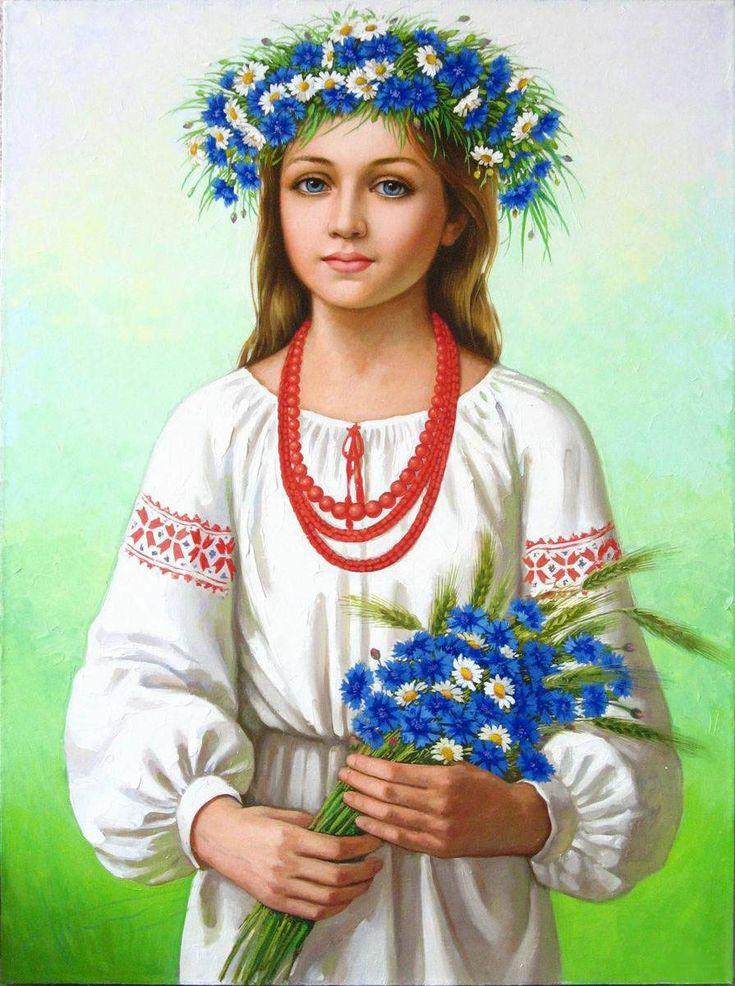 я украинка рисунок сожалению, объем прикрепляемого