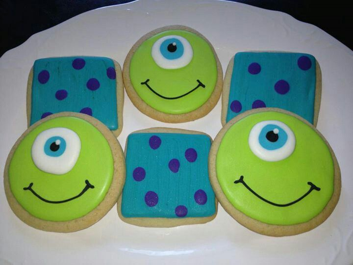Inspiration for cute but simple Monsters Inc door decs