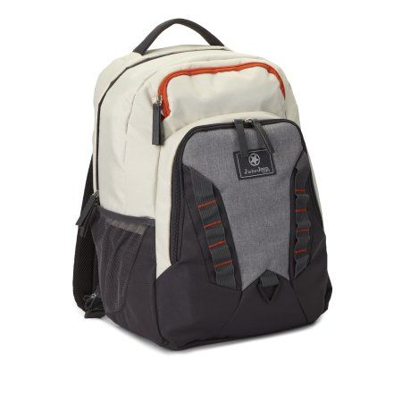 J is For Jeep Sport Back Pack Diaper Bag, Gray
