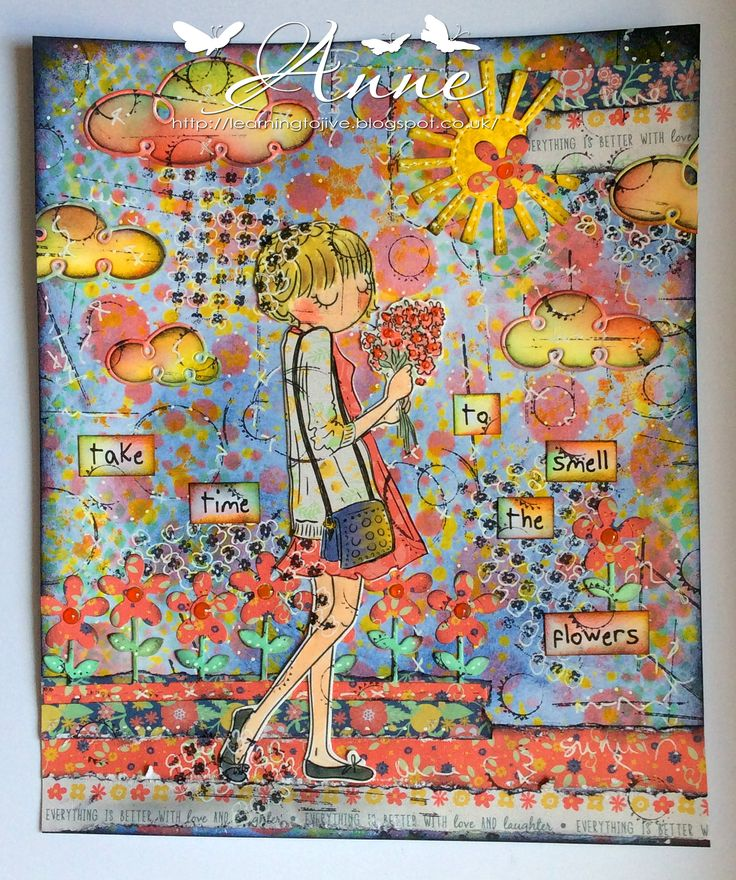 LOTV - Thoroughly Modern Miss May Journal Page by Anne Richardson