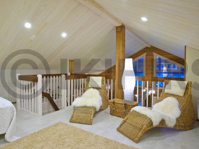 IKIHIRSI Koutelo log house model: Finnish log home model – Finland log cabin - Ikihirsi