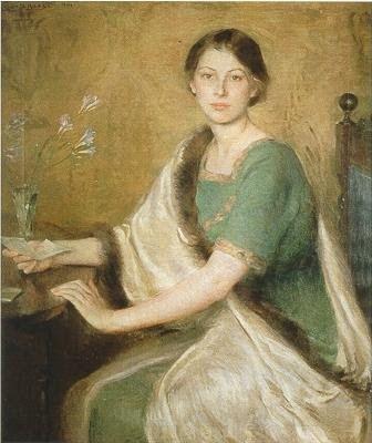 femmes artistes peintres women artists painters.  Mary Brewster Hazelton.