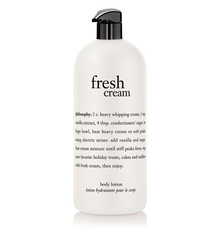 philosophy, fresh cream. 32 oz