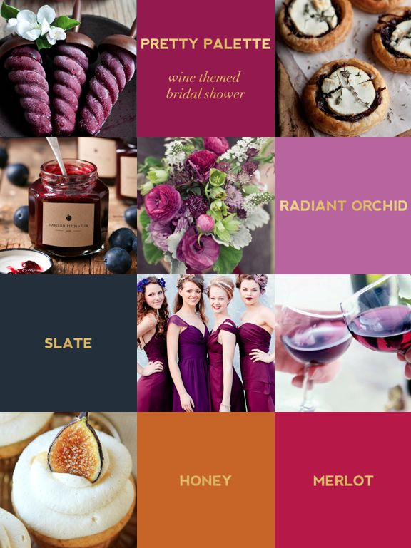 Pretty Palette: Wine Themed Bridal Shower