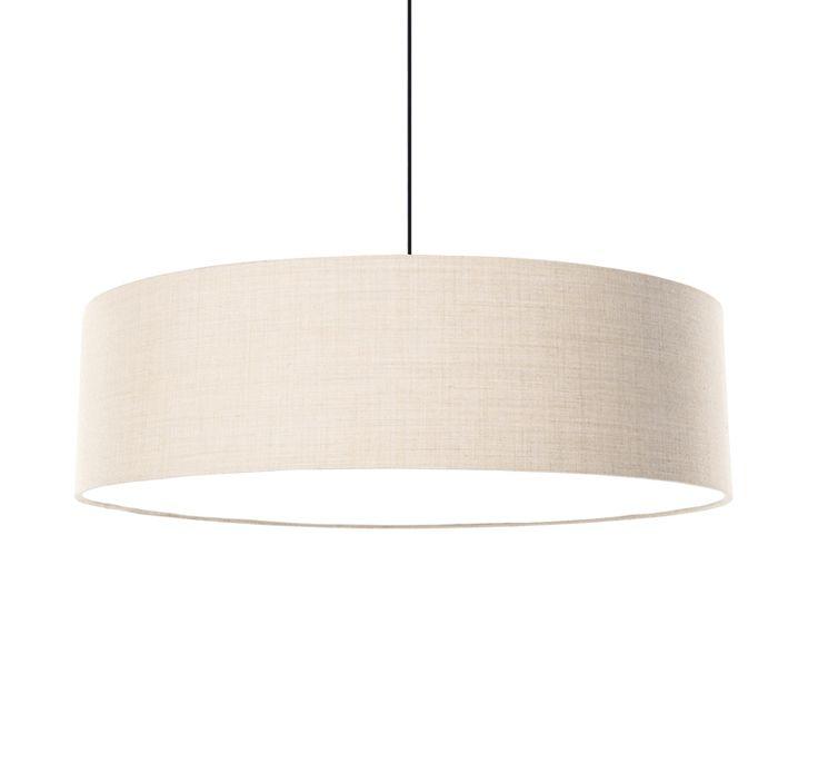 FAB 800 acoustic pendant with Remix 2 - light beige 113