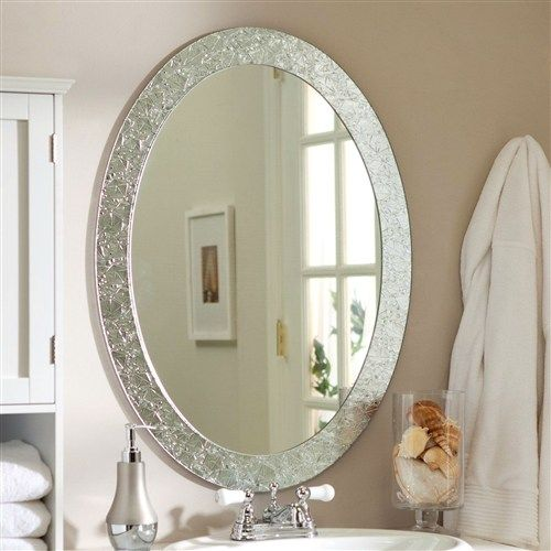 17 best ideas about oval bathroom mirror on pinterest - Round mirror over bathroom vanity ...