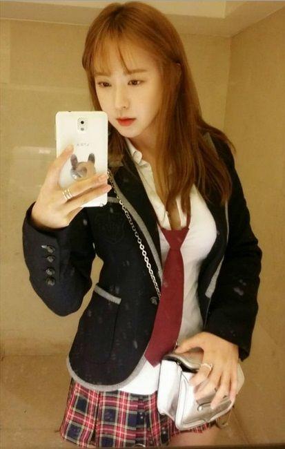 AFTER SCHOOL (Ex.Memeber) - SoYoung #소영 (Yoo SoYoung #유소영) IG 151101 [ Happy Halloween #할로윈 #교복 #불량학생 #컨셉 #코스프레 #씐나씐나 ] #인스타그램