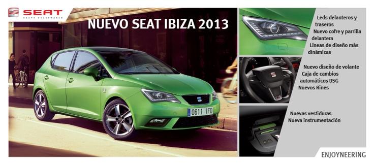 Nuevo SEAT Ibiza 2013 http://www.seat-mexico.com.mx