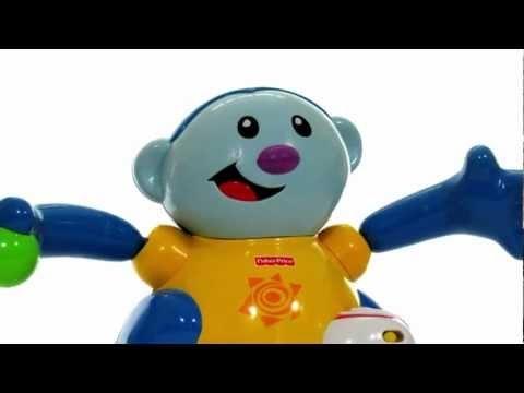 Fisher Price Baby Gymnastics Monkey Chase Toy Tasting
