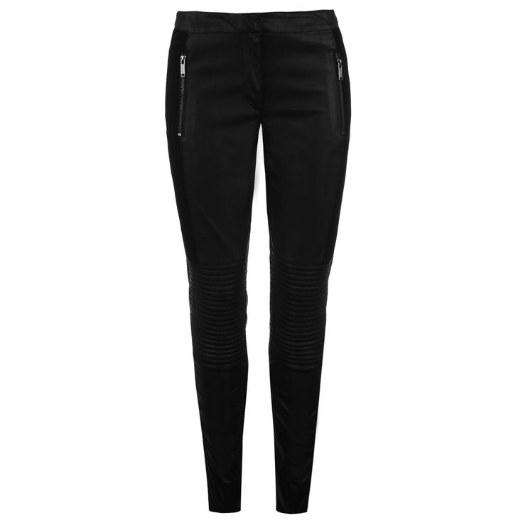 Firetrap Blackseal PU Panel Jeggings #party #christmas #outfit
