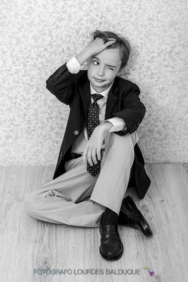 Fotos de Primera Comunión de niño, Adrián