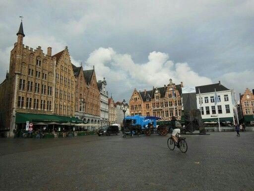 #Brujas, la ciudad más bonita de #Belgica y una de las más hermosas de #Europa.  http://www.europeosviajeros.com