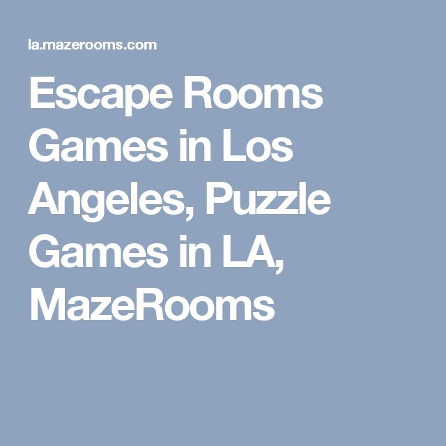 Cheyenne Escape Rooms