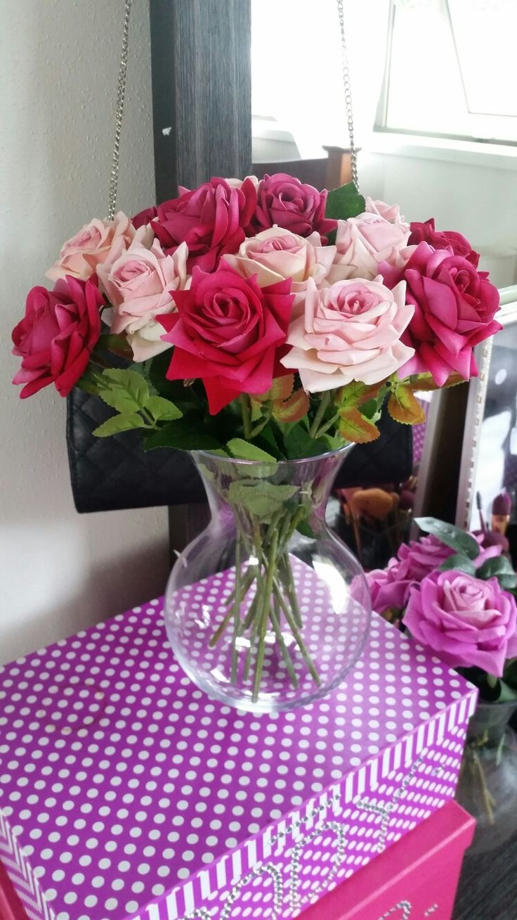 Beautiful flowers from Ali express ♡