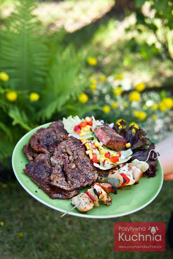 Karkówka z #grill.a - #przepis  http://pozytywnakuchnia.pl/karkowka-z-grilla/  #kuchnia