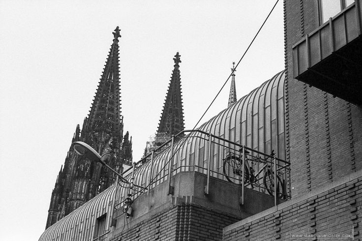 Cologne, Germany, March 2013 traditional analog photography