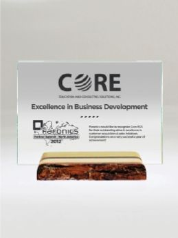 Maple Stewardship Award - Green, Crystal or Glass Awards by Eclipse Awards
