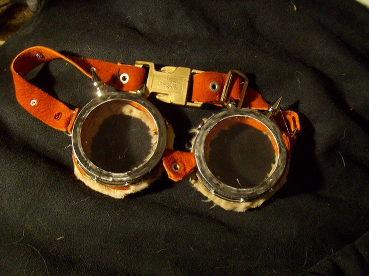 Steampunk Goggles by ~BasiliskZero on deviantART