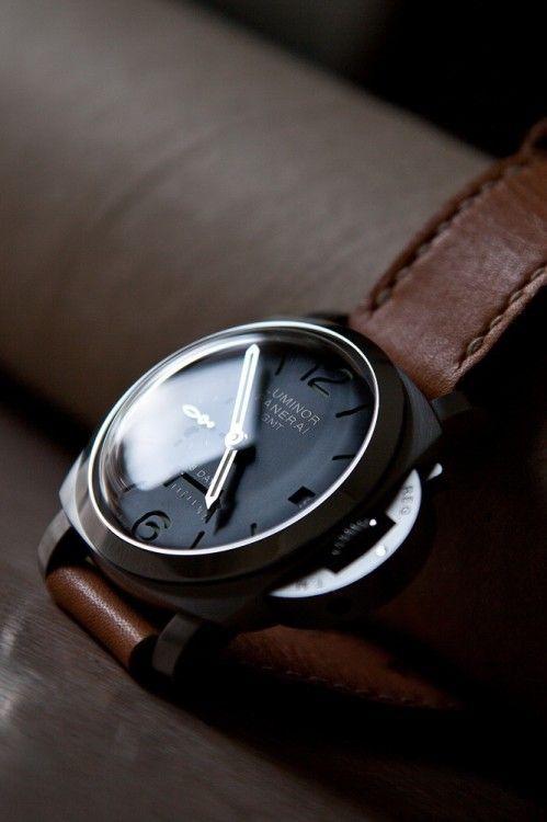 Luminor Panerai GMT | Gentleman's Watches | Pinterest