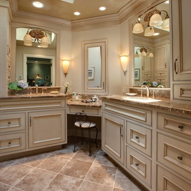 25+ Best Ideas About Bathroom Makeup Vanities On Pinterest