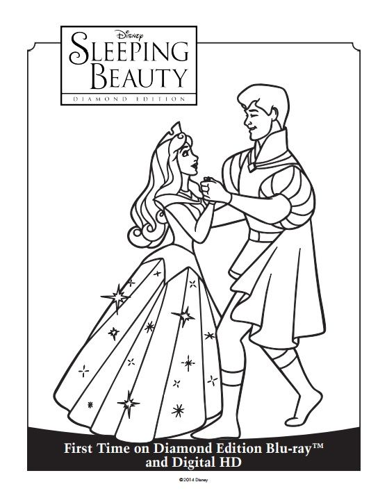 55 best Sleeping Beauty Diamond Edition images on Pinterest - copy coloring pages princess sleeping beauty