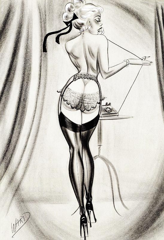 Illustration by Bill Ward c. 1950s