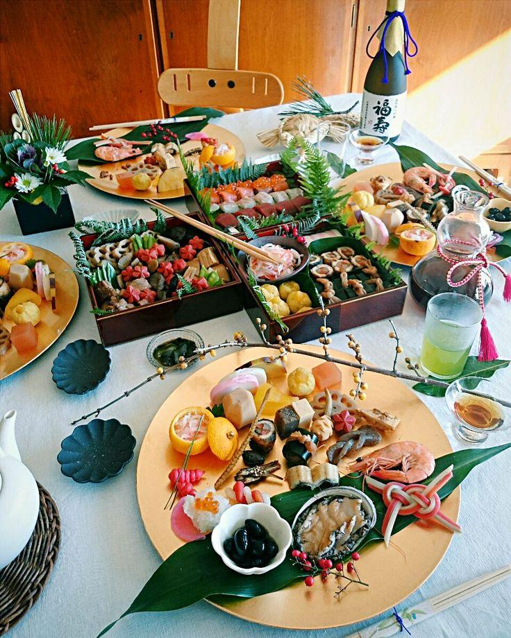 kahori's dish photo 2016 おせち   お正月 おせち 御節 おせちグランプリ2016  料理 和食 Japanese sushi | http://snapdish.co #SnapDish #おせちグランプリ2016 #朝ご飯 #お正月 #パーティー #和食