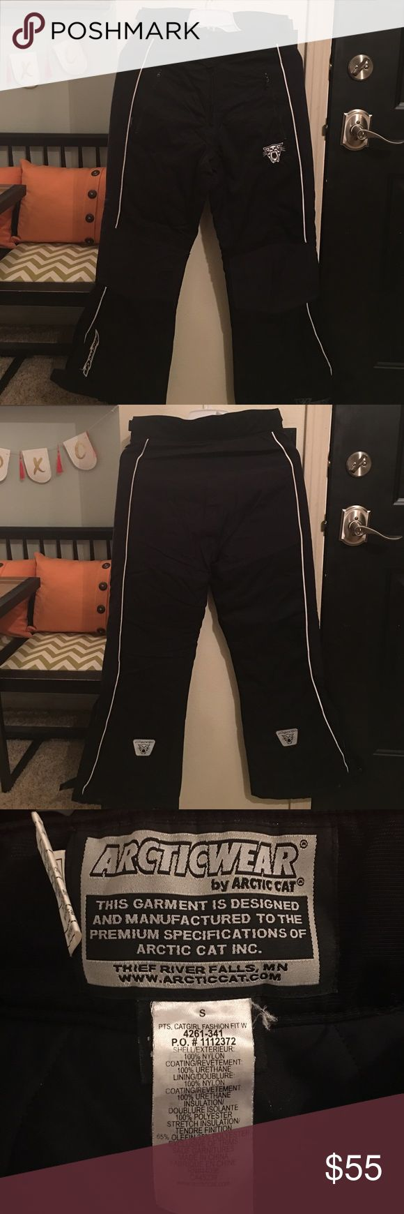 Arctic Cat ladies snowmobile pants These pants are so warm