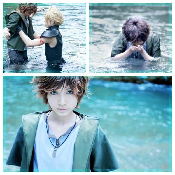 [[ Final Fantasy VII: Advent Children ]] Denzel cosplay  COSPLAYER/S: SoratoSuguru (from WorldCosplay), & KANAME (as Cloud Strife)