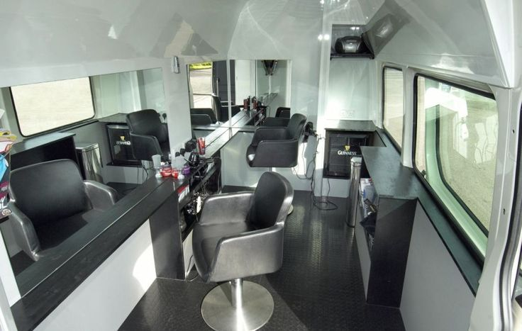converted into home beauty salon | 12, 2008: A Volkswagen Crafter panel van hasbeen converted into ...