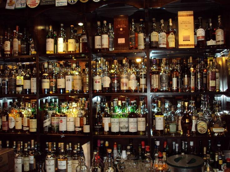 Whiskey Bar Restaurant Edinburgh