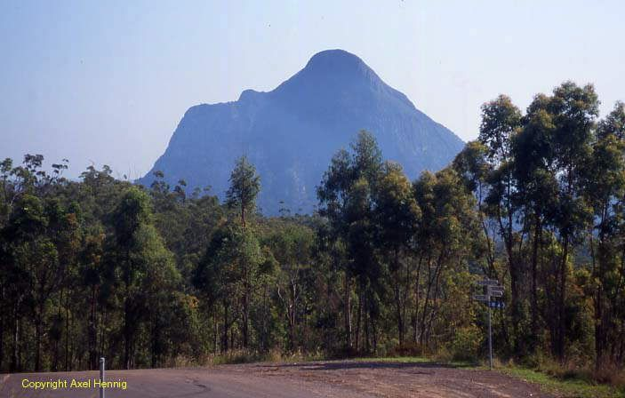 Mt Beerwah, Glass House Mountains