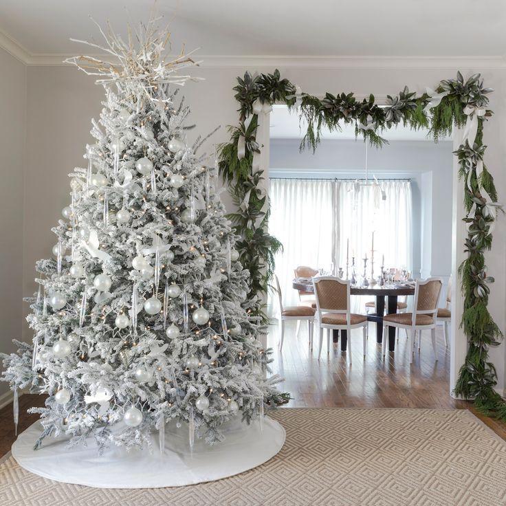 Nest Christmas Tree Topper Sculpture By Kaki Foley White Christmas Decor Blue Christmas Decor Christmas Decorations Living Room