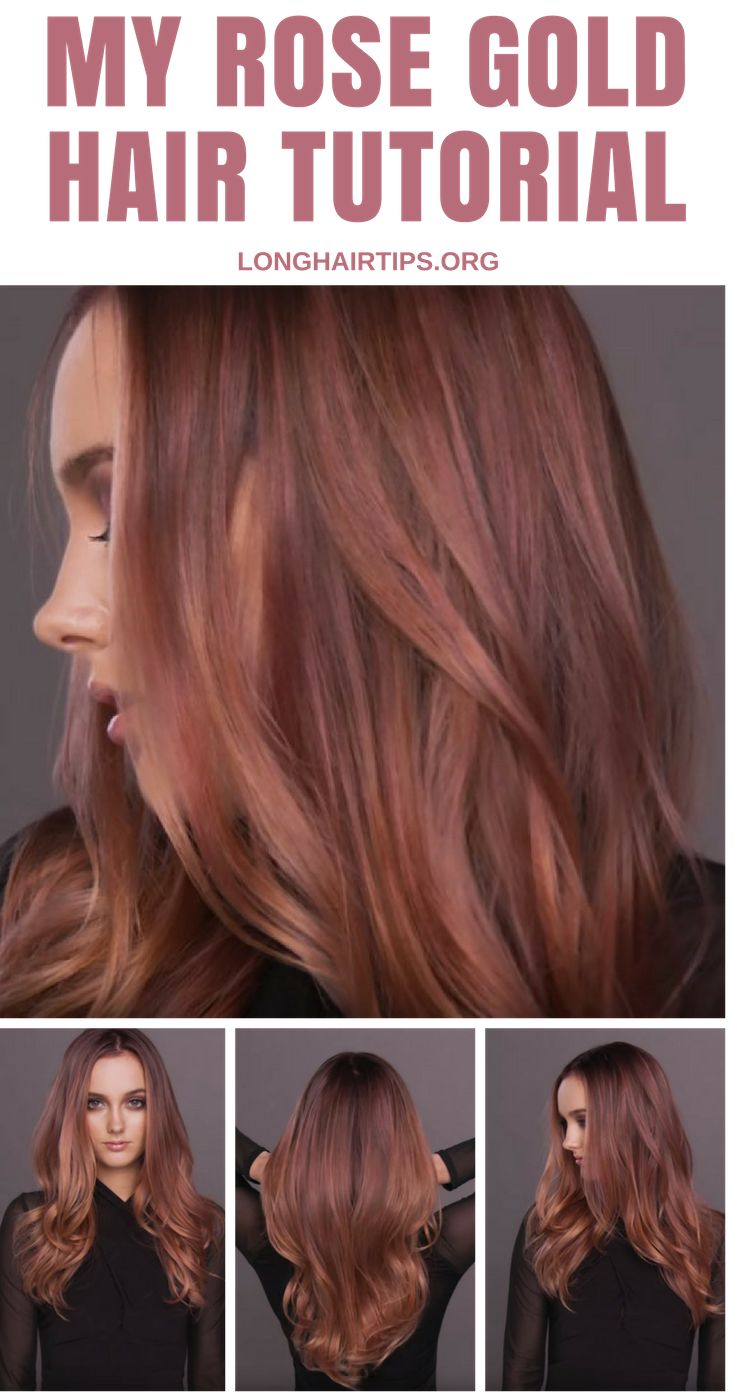 See our new post (Rose Gold Hair Tutorial) which has been published on (Long Hair Growth Tips) Post Link (https://longhairtips.org/rose-gold-hair-tutorial/)  Please Like Us and follow us on Facebook @ https://www.facebook.com/longlayers/