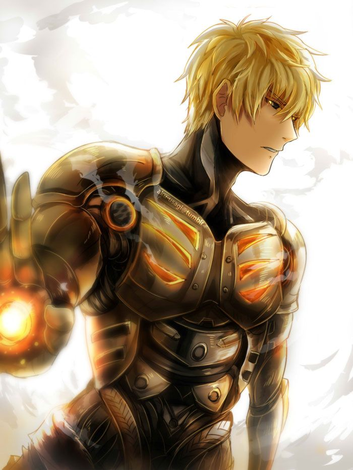 been watching One Punch Man, Genos is such a cute dork ; u;; print will be available on my online store later, and probably at Toronto winter comicon on December 5th~! *U*/