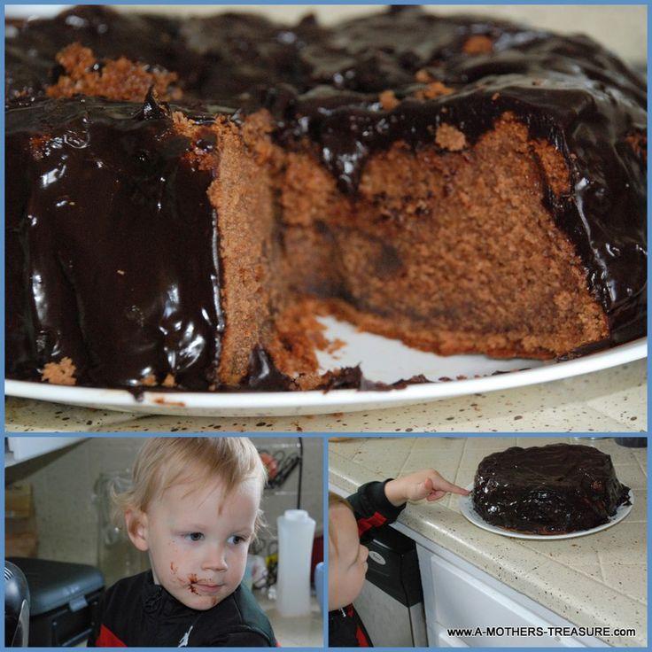 Chocolate Cake Disaster