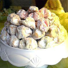 Ricetta dei fior di mandorla (fiocchi di neve)   Dolci Siciliani