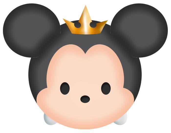 King Mickey Tsum Pinterest Art