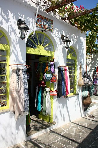 GREECE CHANNEL | ~Shop in Apollonia, Sifnos~