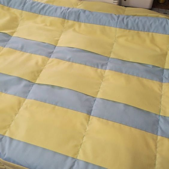 Weighted blanket tutorial - I wrote this tutorial to fill a gap I found on line - no matter where I looked, I could not find a simple-to-understan...