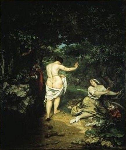 COURBET Gustave (1819-1877), Les Baigneuses, 1853, huile sur toile, 227x193 cm, Montpellier, Musée Fabre.