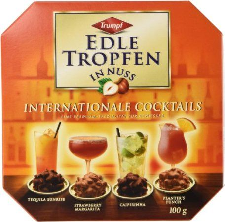 Trumpf Edle Tropfen in Nuss Liquor Chocolate (Christmas gifts for friends)