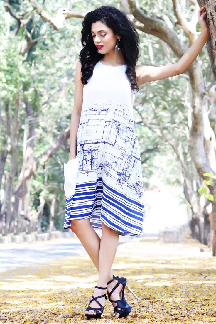 #Lalgulal New Blue-White Fluidic Rayon Fancy Readymade Indo-Western Kurti Buy Now :- http://goo.gl/tCkIG0v To Order you Call or Whatsapp us on +91-95121-50402. COD & Free Shipping Available only in India.